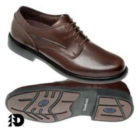 Brown Oxford Waterproof Shoe