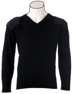 "Cobmex V-neck Rib ""Commando"" Sweater"