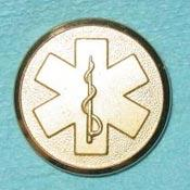 EMS Metal Button