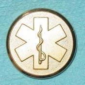 EMS Metal Button