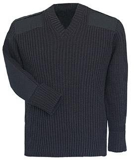 Fechheimer Command Sweater Heavy Rib Knit