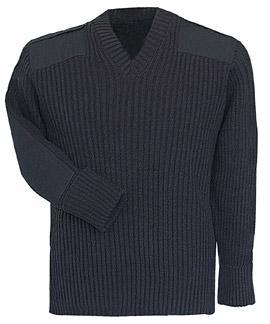 Fechheimer Command Sweater Heavy Rib Knit