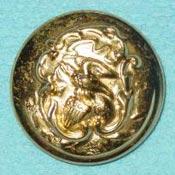 Illinois Seal Metal Button