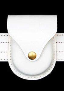 Premier Emblem White Handcuff Case
