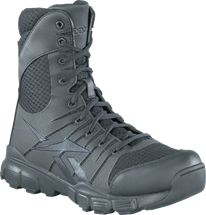 "Reebok Dauntless 8"" Side-zip Tactical Boot"