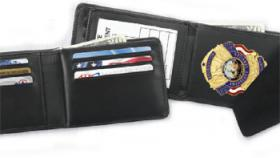 Strong Hidden Badge Credit Card Wallet