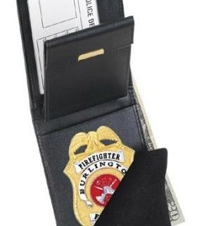 Strong Traditional Badge Wallet