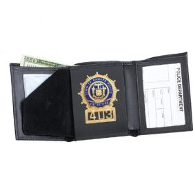 Strong Tri-fold Badge Wallet