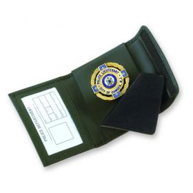 Strong Velcro Non-Recessed Badge Case
